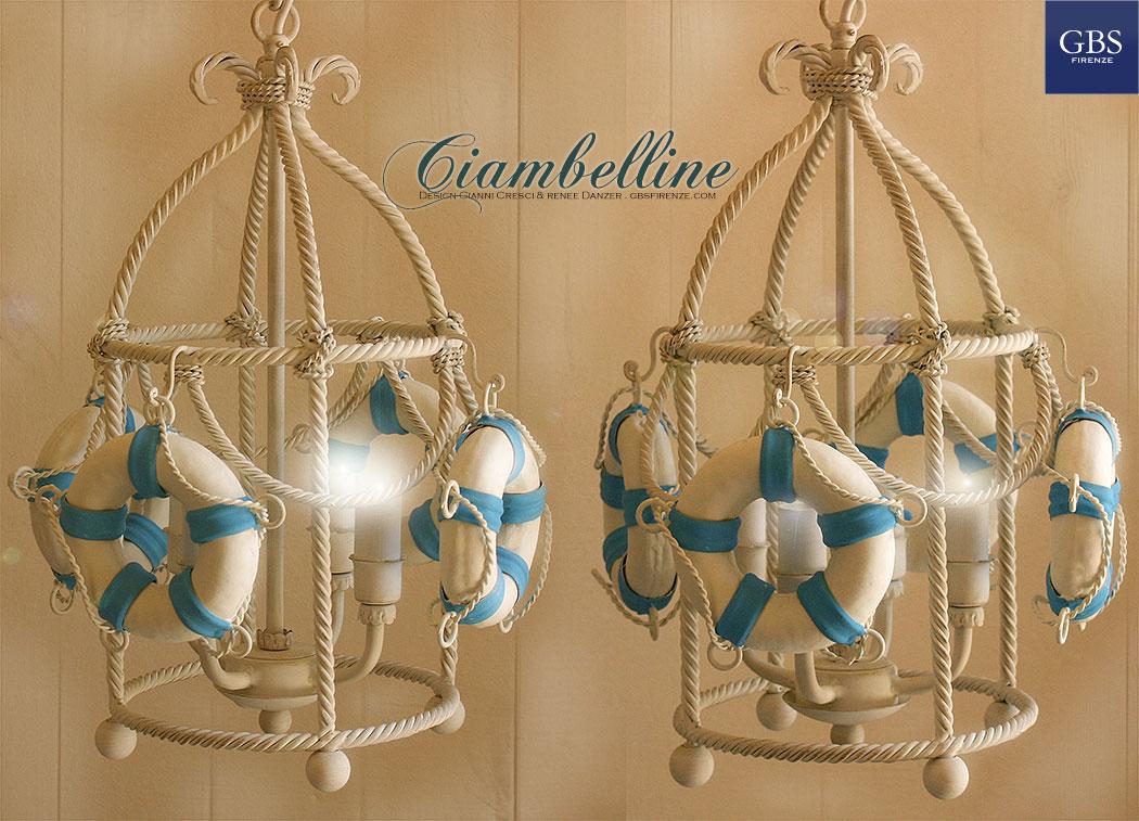 Ciambelline Lantern. Lanterna Brunellesca. Collezione Navy