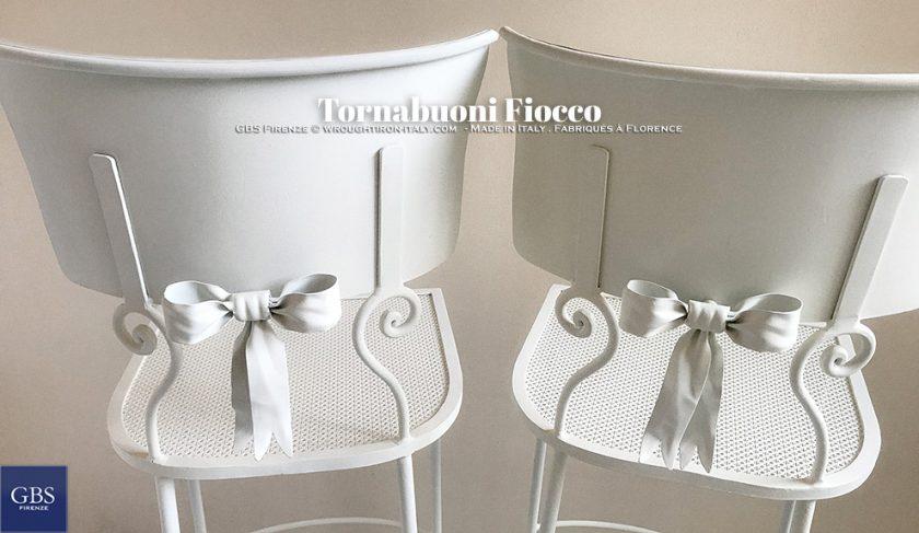 Sedia Tornabuoni Fiocco Colore bianco GBS Design Renee Danzer