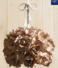 Lampada Sospensione Grace di Rose. Ferro battuto e decorato a mano. Made in Italy.
